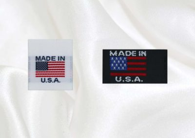 Made in USA | Woven Labels