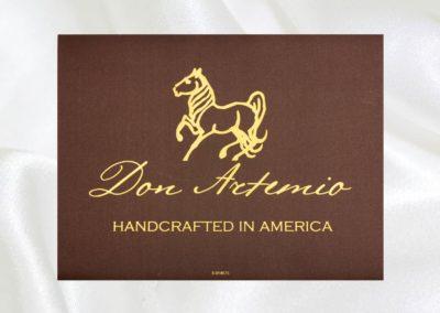 Don Artemio   Printed Label