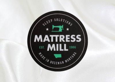 Mattress Mill   Printed Label